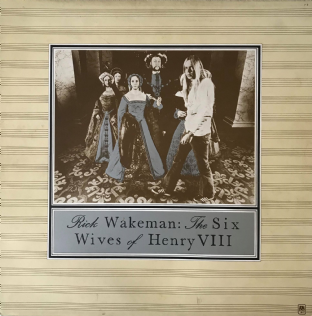 Rick Wakeman ‎- The Six Wives Of Henry VIII (LP) (VG-/G+)